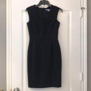 Antonio Melani Black Sleeveless Sheath Dress